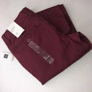 Gap kids pants Color burgundy size 12 regular